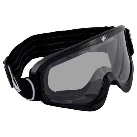 Oxford Fury Adult Motocross MX Enduro ATV Goggles Gloss Black - Clear Lens - Oxford -  - MSG BIKE GEAR