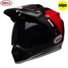 Bell 2018 MX-9 Adventure MIPS Helmet - Berm Black / Red