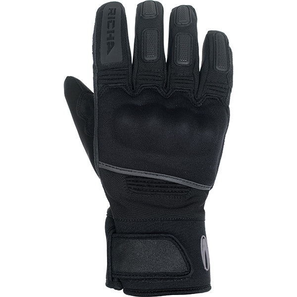 Richa Sub Zero Waterproof Motorbike Motorcycle Gloves Black - Richa -  - MSG BIKE GEAR - 1