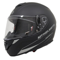 MT Rapide Solid Full Face Helmets - Matt Black