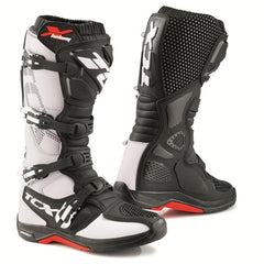TCX X-Helium Michelin Sole MX Motorcycle Enduro OffRoad Adventure Boots White - TCX -  - MSG BIKE GEAR - 1
