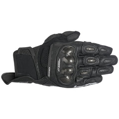 Alpinestars SP-X Air Carbon Leather Short Street Motorcycle Gloves - Black - Alpinestars -  - MSG BIKE GEAR