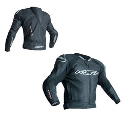 RST 2051 Tractech Evo III CE Approved Leather Sports Jacket - Black