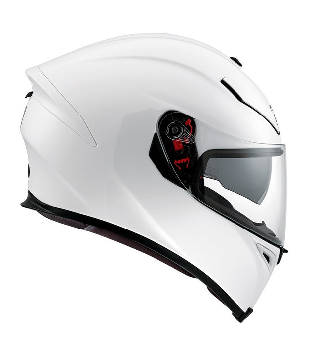 AGV K5-S DVS Sports/Touring Full Face Motorcycle Helmet Lid - Pearl White - AGV -  - MSG BIKE GEAR - 1