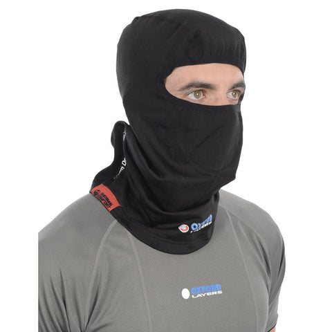 Oxford Layers Warm Dry Thermal Motorbike Ski Motorcycle Balaclava - Oxford -  - MSG BIKE GEAR