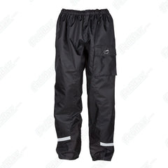 Spada Aqua Waterproof Breathable Motorcycle Over Trousers Pants - Black - Spada -  - MSG BIKE GEAR