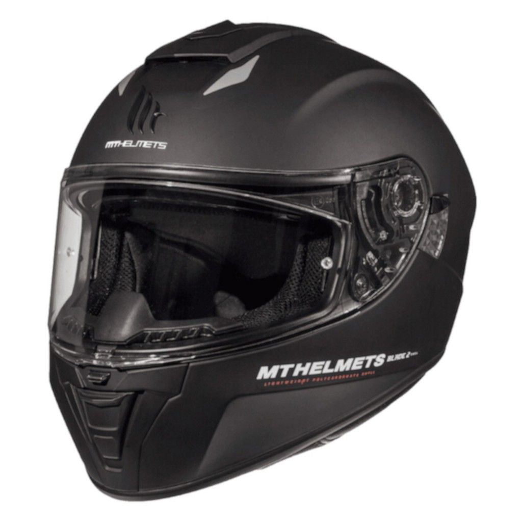 MT Blade 2 SV Solid Helmet - Matt Black