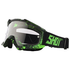 "Shot 2018 ""Assault Drop"" Goggles - Neon Green Matt"