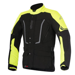 Alpinestars Vence Drystar Waterproof Motorcycle Jacket - Black/Fluo Yellow - Alpinestars -  - MSG BIKE GEAR - 1