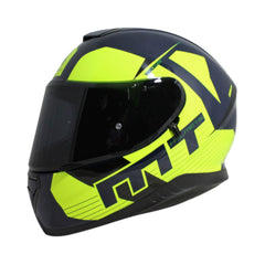 MT Thunder 3 SV Ray Full Face Helmets - Navy/Fluo Yellow