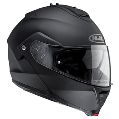 HJC IS-MAX 2II Flip Front Up Sun Visor Motorbike Motorcycle Helmet Matt Black - HJC -  - MSG BIKE GEAR - 1