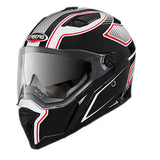 Caberg Stunt Full Face Touring Motorcycle Helmet - Blade White/Black/Red  S - Caberg -  - MSG BIKE GEAR - 1