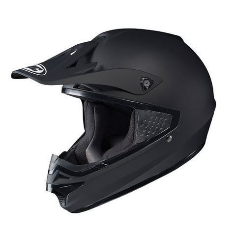 HJC CS-MX Enduro Off Road Motocross MX Helmet Plain Matt Black - HJC -  - MSG BIKE GEAR - 1