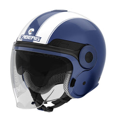 Caberg Uptown Classic Open Face Jet Scooter Motorcycle Helmet Midlnight Blue - Caberg -  - MSG BIKE GEAR - 1