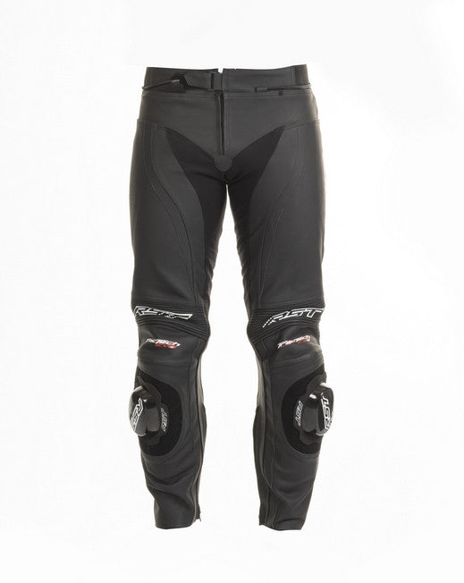 RST 1444 TRACTECH EVO II LEATHER MOTORCYCLE JEANS TROUSERS BLACK - RST -  - MSG BIKE GEAR - 1