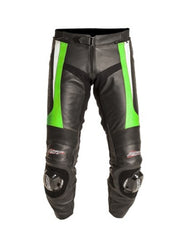 RST 1444 TRACTECH EVO II LEATHER MOTORCYCLE JEANS TROUSERS GREEN - RST -  - MSG BIKE GEAR - 1