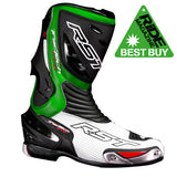 RST TRACTECH EVO CE 1516 MOTORCYCLE BOOTS GREEN - RST -  - MSG BIKE GEAR - 1