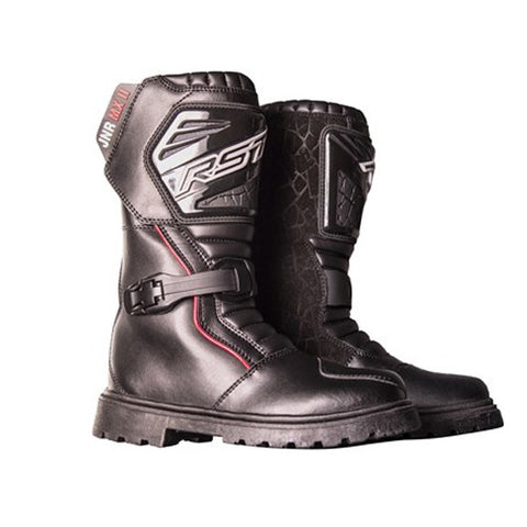 RST 1676 Junior MX 2 Kids MX Off Road Enduro Motocross Bike Boots - Black - RST -  - MSG BIKE GEAR - 1