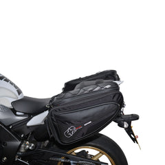 Oxford P50R Motorbike Motorcycle Panniers 50 Litres - Black - Oxford -  - MSG BIKE GEAR