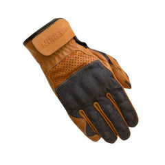 Merlin Maple Gloves - Blue/Brown