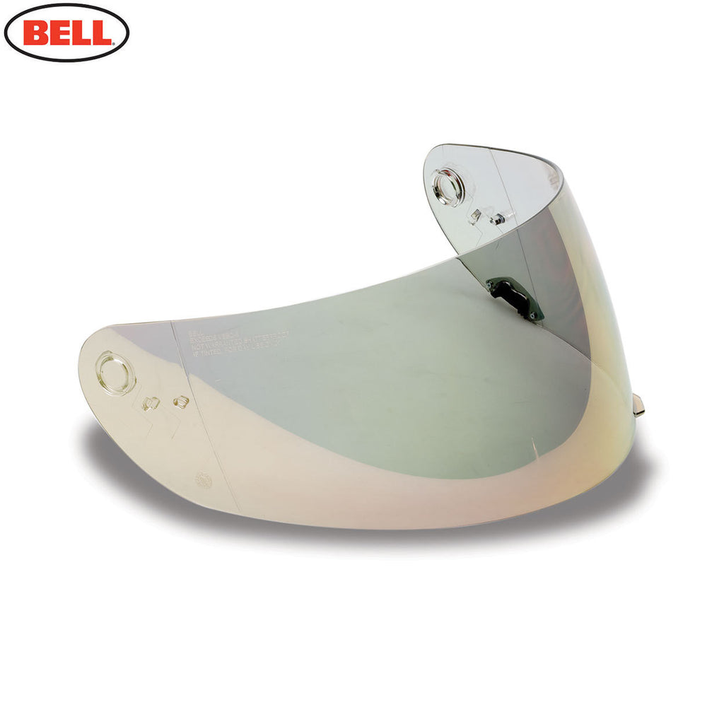 Bell  Star / RS-1 / Qualifier  Shield (Iridium) W/Anti Scratch & UV Light Gold - Bell -  - MSG BIKE GEAR