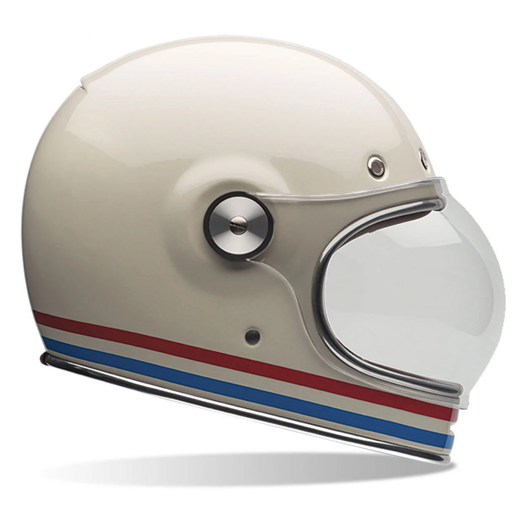 Bell Cruiser 2016 Bullitt Adult Helmet (Stripes Vintage White) - Bell -  - MSG BIKE GEAR