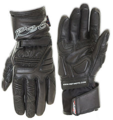RST 1687 LADIES MADISON II LADIES MOTORCYCLE GLOVES BLACK - RST -  - MSG BIKE GEAR - 1