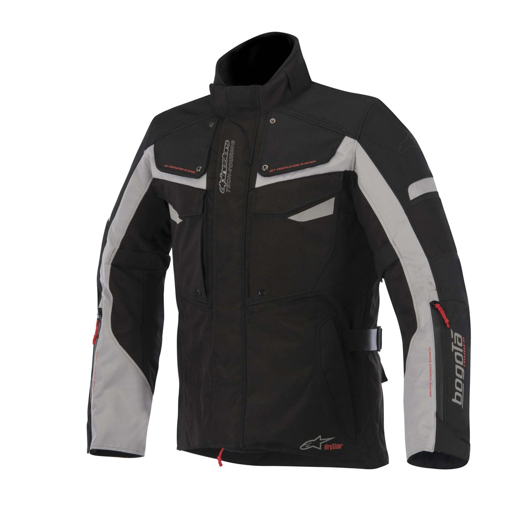 AlpineStars DryStar Bogota Ladies Textile Waterproof Motorcycle Jacket Black - Alpinestars -  - MSG BIKE GEAR - 1