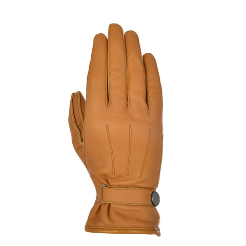 Oxford Radley Short Ladies Leather Gloves - Tan