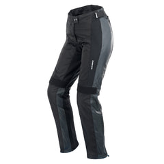 Spidi Teker Ladies Leather Trousers - Black