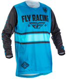 Fly Racing 2018 Kinetic Era MX Jersey - Blue / Black