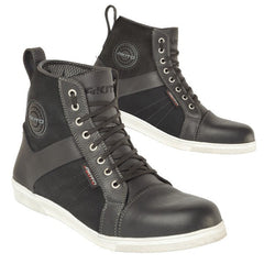 Akito Citizen Waterproof Non Slip High Top Urban Leather Boots - Black - Akito -  - MSG BIKE GEAR - 1
