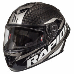 MT Rapide Pro Carbon Helmet - Carbon / Grey