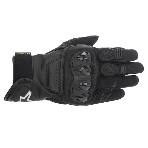 Alpinestars Celer Gore-Tex 2016 Short Waterproof Motorcycle Gloves - Black - Alpinestars -  - MSG BIKE GEAR