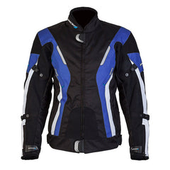 SPADA CURVE LADIES WATERPROOF MOTORCYCLE TEXTILE JACKET BLACKBLUE - Spada -  - MSG BIKE GEAR