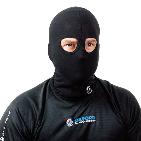 OXFORD  COTTON MOTORCYCLE MOTORBIKE HEAD HELMET BALACLAVA - TWIN EYES -OF566 - Oxford -  - MSG BIKE GEAR