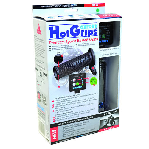 Oxford Motorbike Motorcycle Heated Grips Hotgrips Premium Sports - Oxford -  - MSG BIKE GEAR