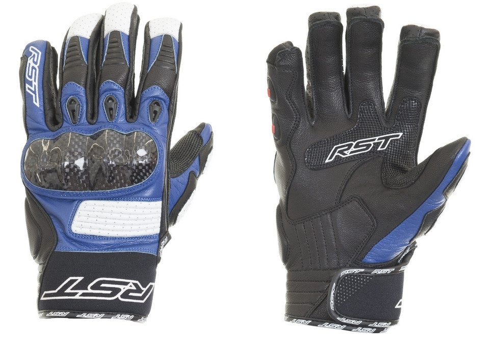 RST 1705 FREESTYLE MENS MOTORCYCLE GLOVES BLUE - RST -  - MSG BIKE GEAR - 1