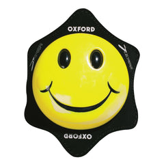 Oxford Smiler Track Racing Road Motorbike Motorcycle Knee Sliders Armour -Yellow - Oxford -  - MSG BIKE GEAR
