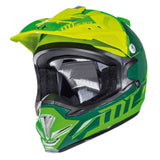 MT MX2 Spec (Kids) Motocross Helmets - Fluo Green/Yellow