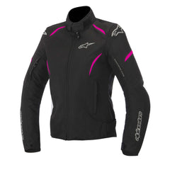 Alpinestars Stella Gunner Ladies Waterproof Motorcycle Jacket - Black/Pink - Alpinestars -  - MSG BIKE GEAR - 1