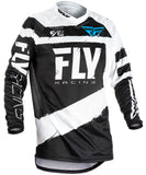 Fly Racing 2018 F-16 MX Jersey - Grey / Black