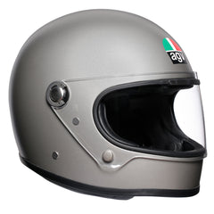 AGV X3000 Retro Full Face Helmet - Matt Grey