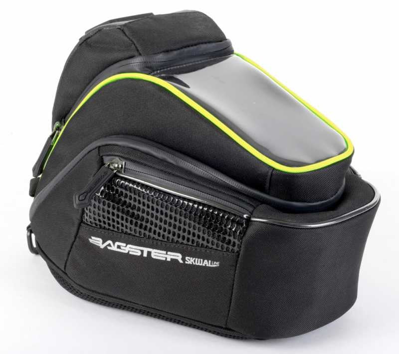 Bagster Motorcycle Luggage Matrix Tank Bag - 6 Litres + Rain Cover - Bagster -  - MSG BIKE GEAR - 1