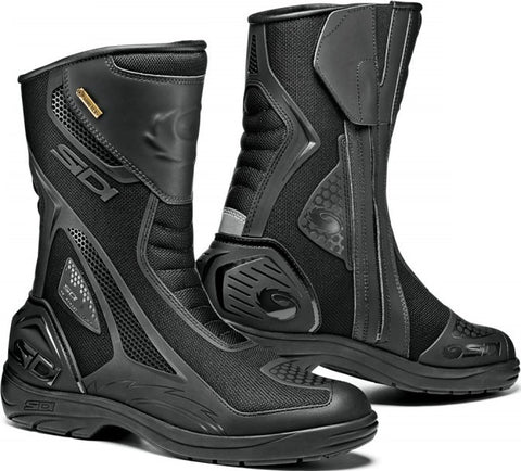 Sidi Aria Gore-Tex Waterproof/Breathable Touring Motorcycle Boots - Black - Sidi -  - MSG BIKE GEAR - 1