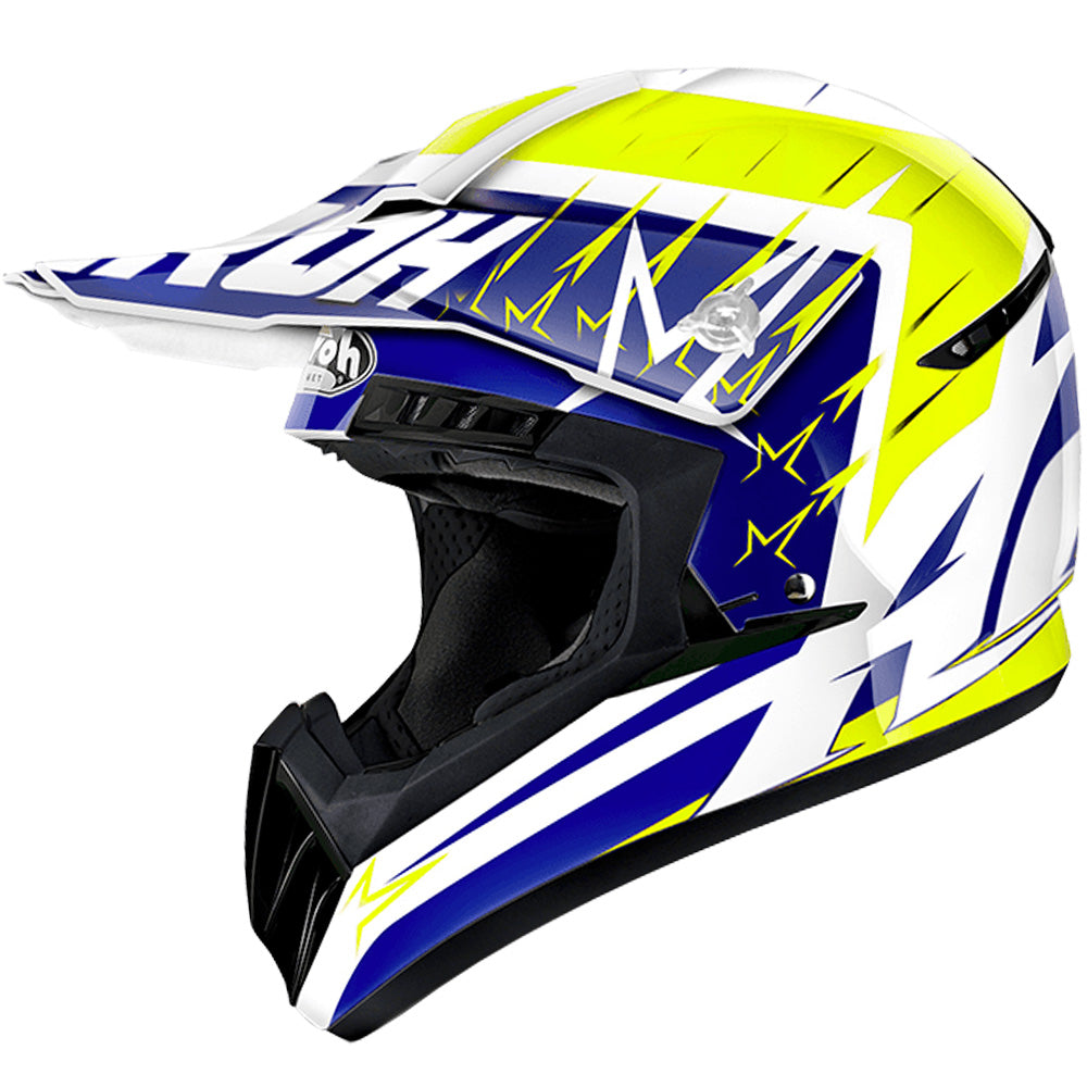 Airoh Switch MX Helmet - Startruck Yellow