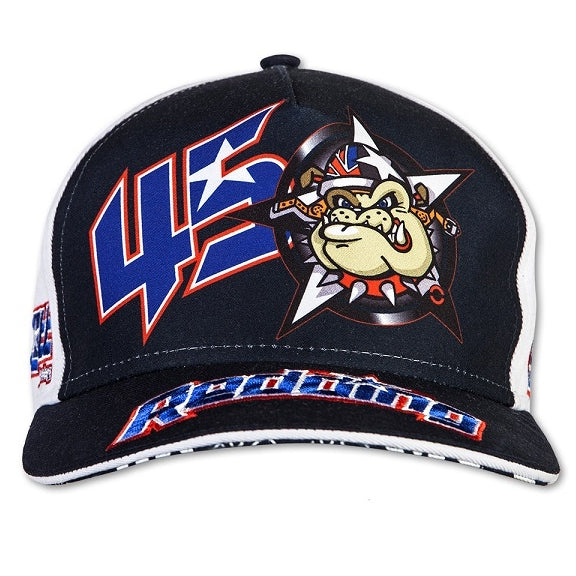 VR46 Scott Redding #45 MotoGP British BullDog Cap Hat Blue - Scott Redding -  - MSG BIKE GEAR - 1