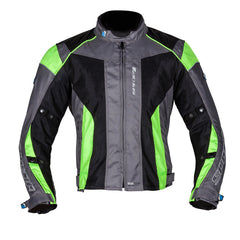 Spada Air Pro 2 Motorcycle Jacket Inc Waterproof OverJacket - Sil/Blk/Fluo - Spada -  - MSG BIKE GEAR - 1