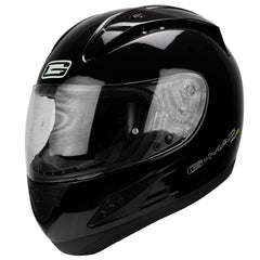 G-Mac Pilot Evo Full Face Helmet - Gloss Black