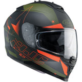 HJC IS-17 Inner Sun Visor Full Face Motorcycle Helmet - Armada MC7F Orange - HJC -  - MSG BIKE GEAR - 1